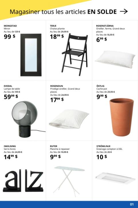 Circulaire Ikea de la semaine