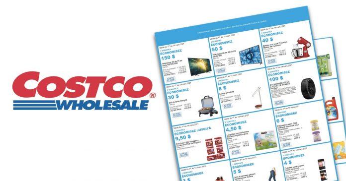 CIrculaire Costco de la semaine du 1er mars au 14 mars 2021 en entrepôt et en ligne