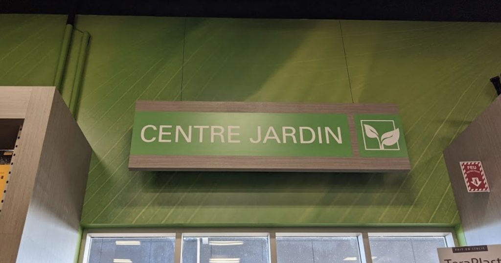 Centre Jardin chez Canac